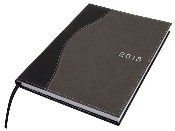 Wave Diary A4 Black Grey Koskin Executive A5 And A4 Diaries
