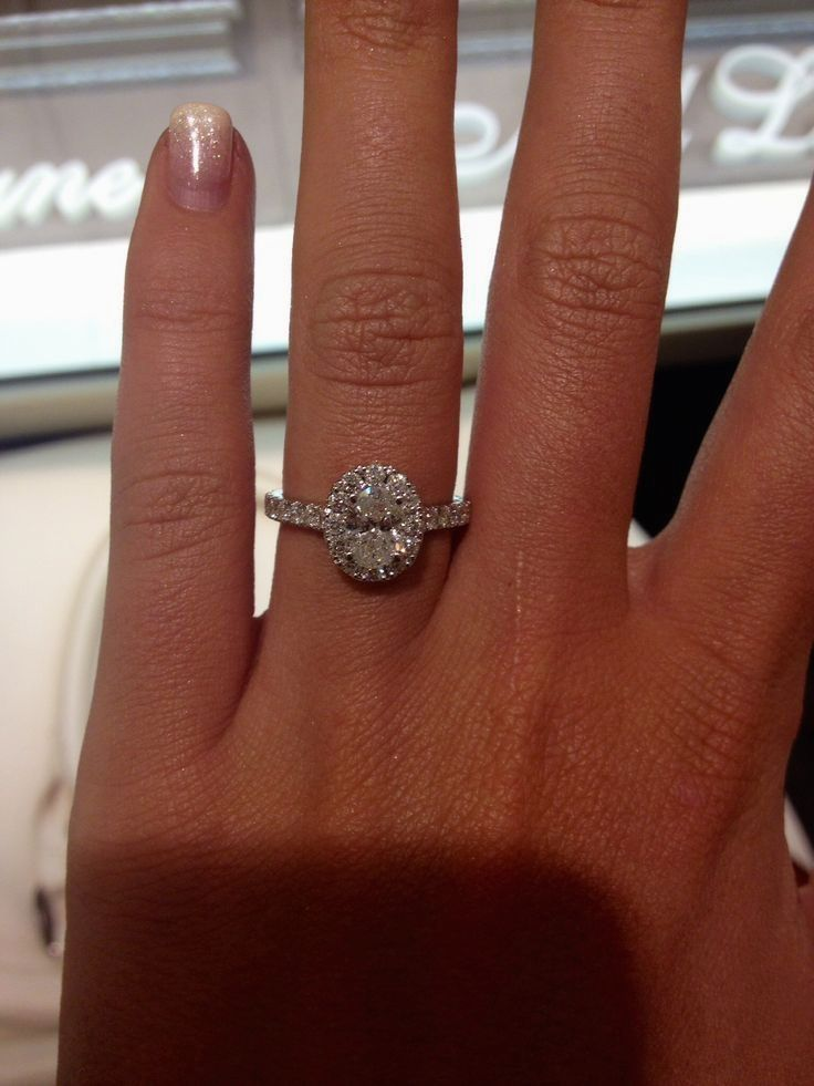 Neil lane oval engagement ring Engagement rings