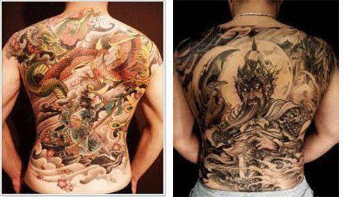Tatuajes Japoneses Para Hombres En La Espalda Tatuajes Para