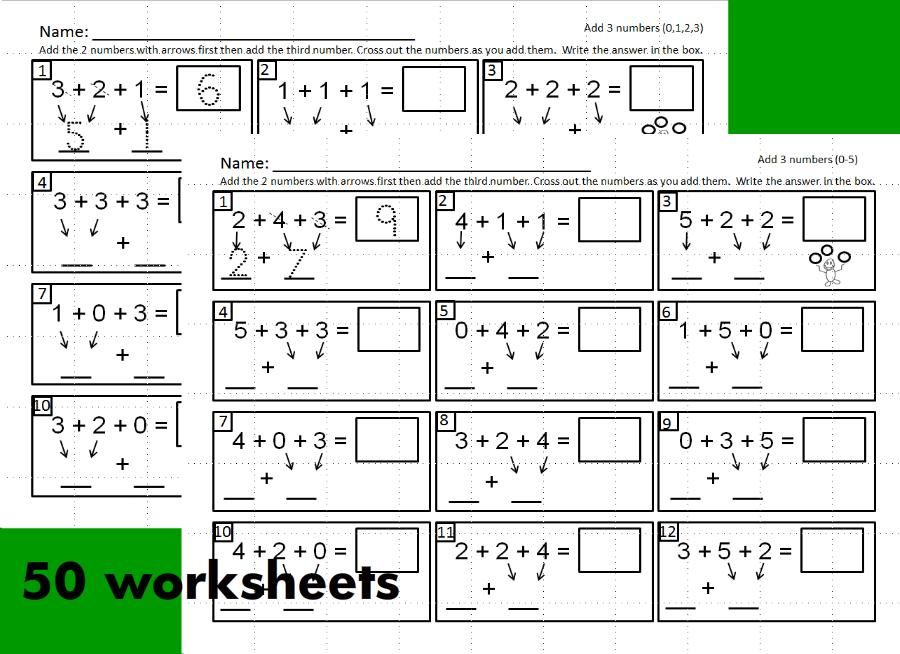 worksheets for teaching students to add three digit math problems   worksheets for teaching students to add three digit math problems using  the associative property of addition