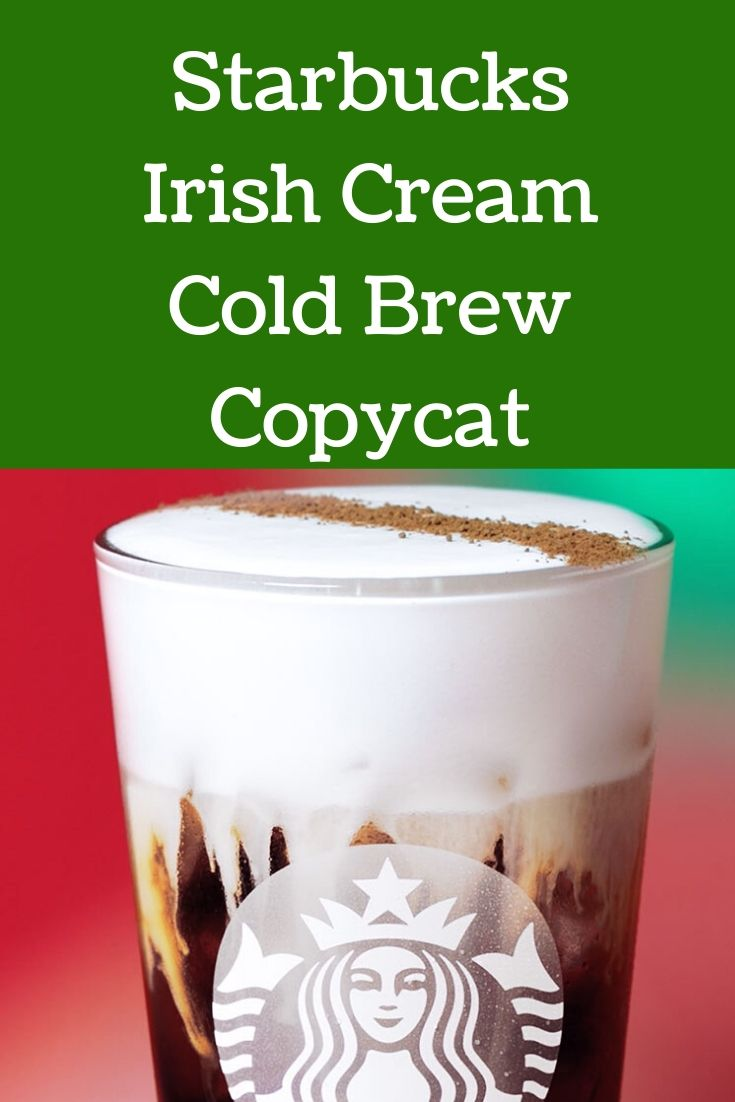 Photo of Starbucks Irish Cream Cold BrewCopycat – Recipes – SavingsMania