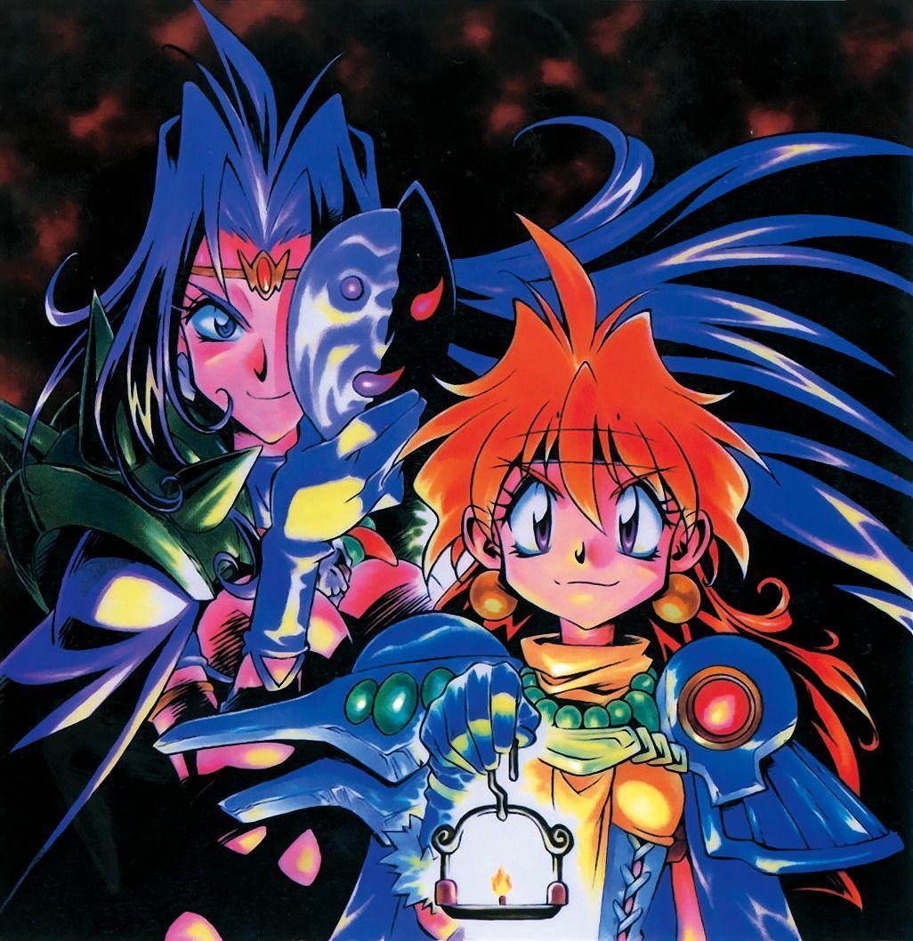 Slayers Lina And Naga Anime CharactersDragonAnime