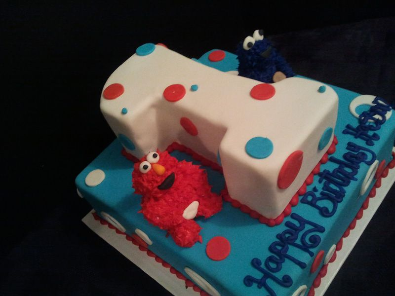 Birthday Cake Elmo Theme Cake Cakes With Attitude Calgary