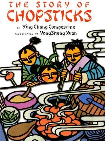 The Story of Chopsticks This author has a series of books that have fictional accounts of how different Chinese things were developed--chopsticks, noodles, kites