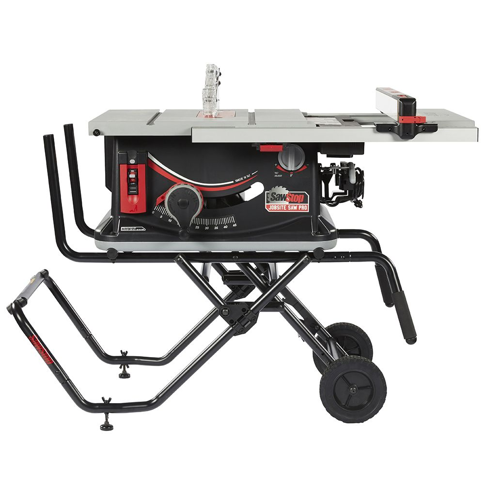 Sawstop 10 Jobsite Saw Pro Portable Table Saw Best Table Saw Jobsite