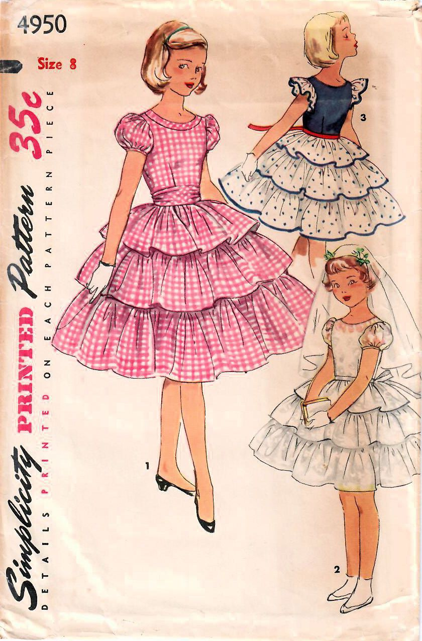 Pin By Midvale Cottage On Girls Vintage Patterns In 2019