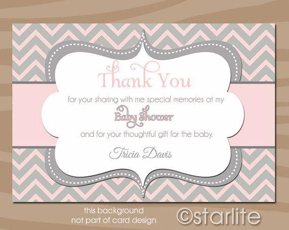 Baby Girl Thank You Card Wording Ajan Ciceros Co