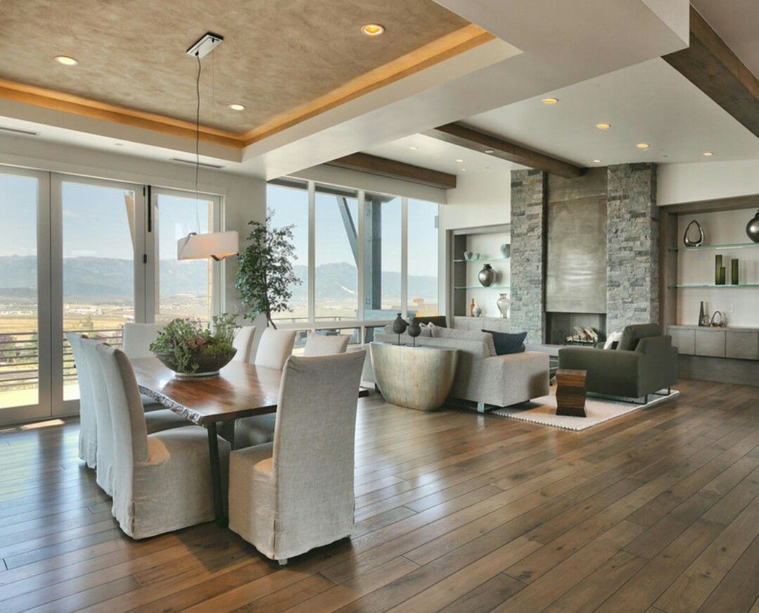 Contemporary Sunroom Furniture Contemporary Rustic Living Room Kitchen Dining Living Sunroom
