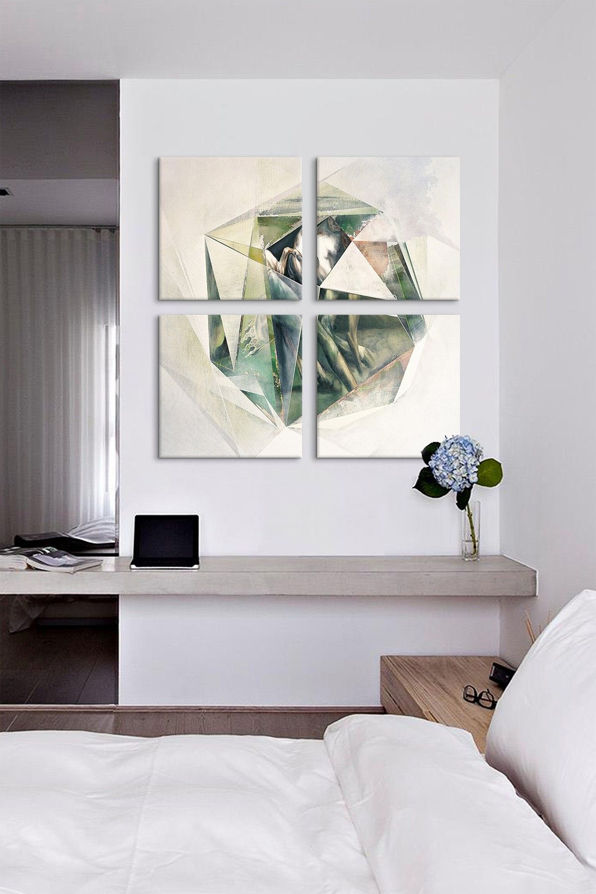 Gain Ground or the Rumble High 4 Panel Sectional Wall Art
