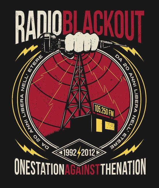 Grafica RadioBlackout.