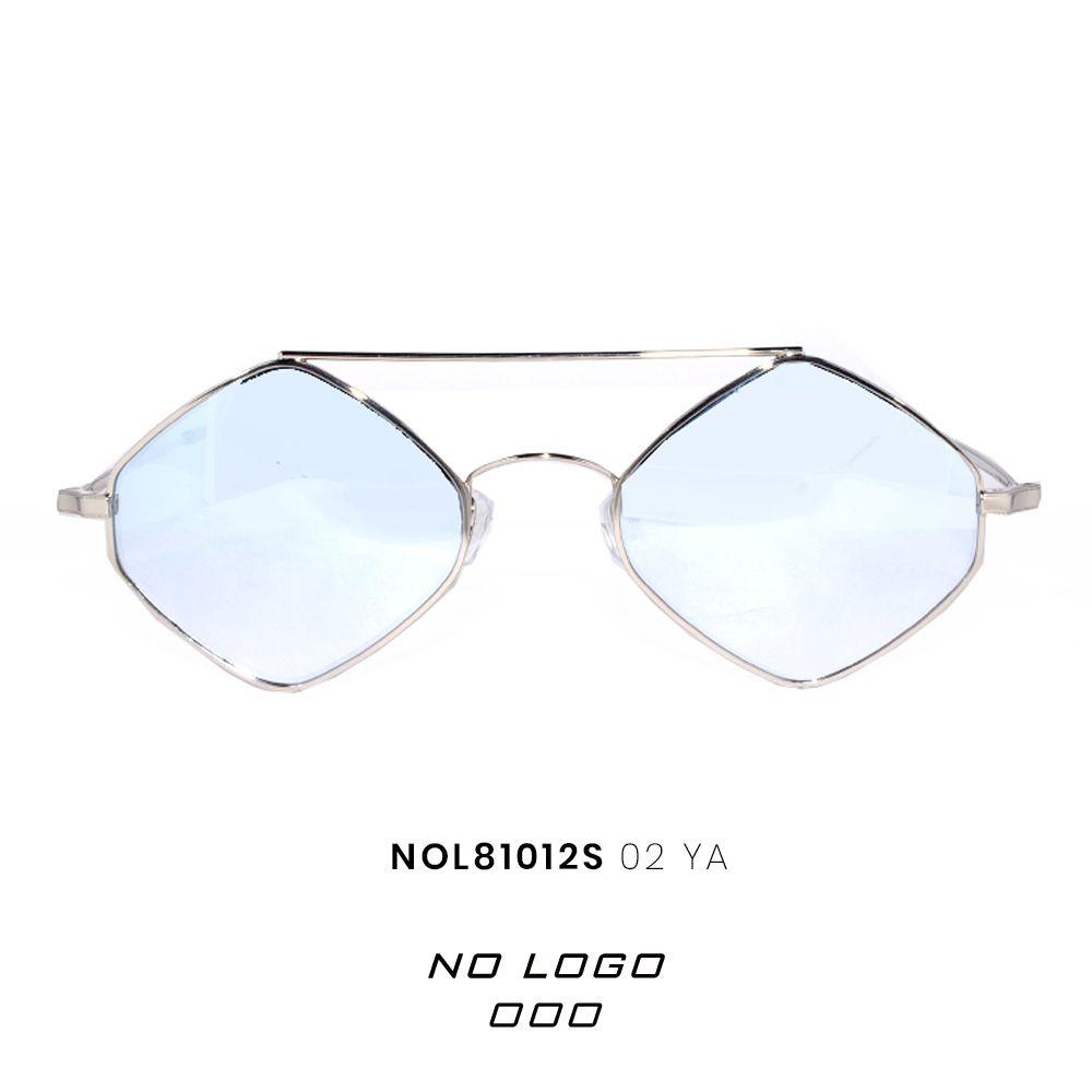 taglia 40 6c94a ca605 Occhiali da Sole Uomo Esagonali No Logo Eyewear Mod ...