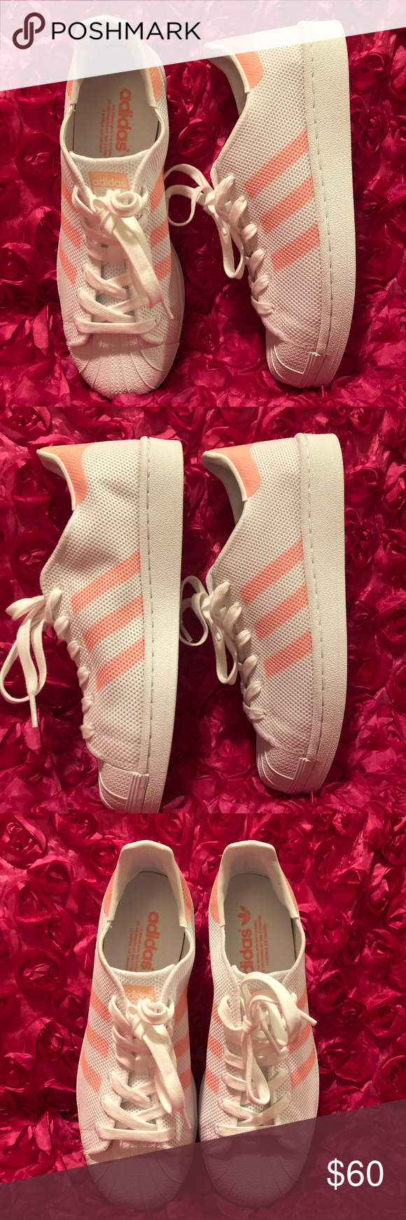 timeless design 5533d 4e1dc Adidas Originals Superstar - Womens Shoes BA7736 Brand new No box 📦 Color  Footwear White