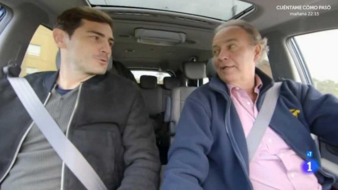 (SOUNDTRACK) Iker Casillas enseña Oporto a Bertín Osborne