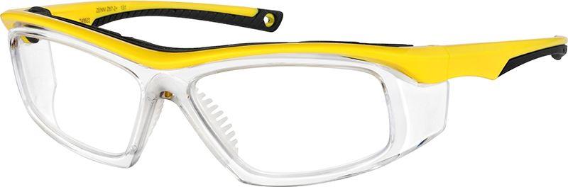 Yellow z871 safety glasses 749922 zenni optical