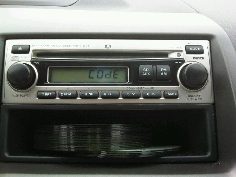 How to Generate Your Valid Honda Radio Code Radio, Radio