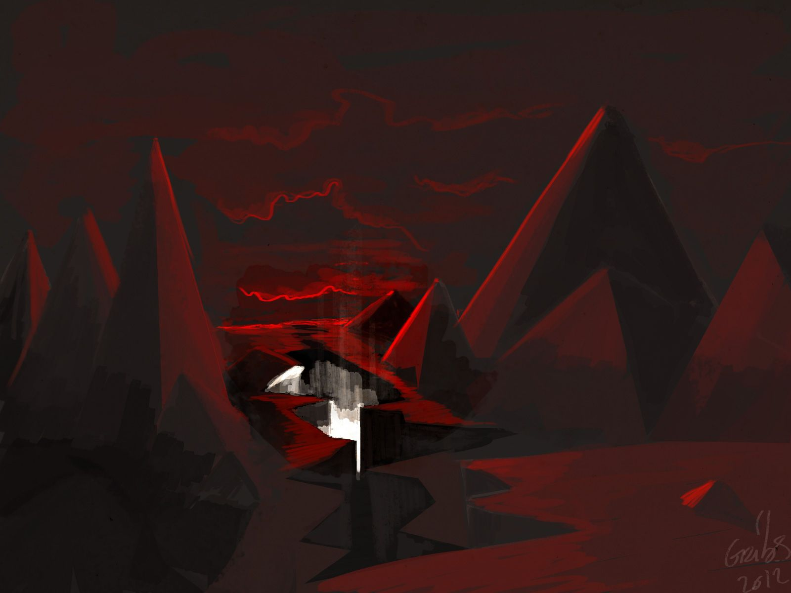terres rouges