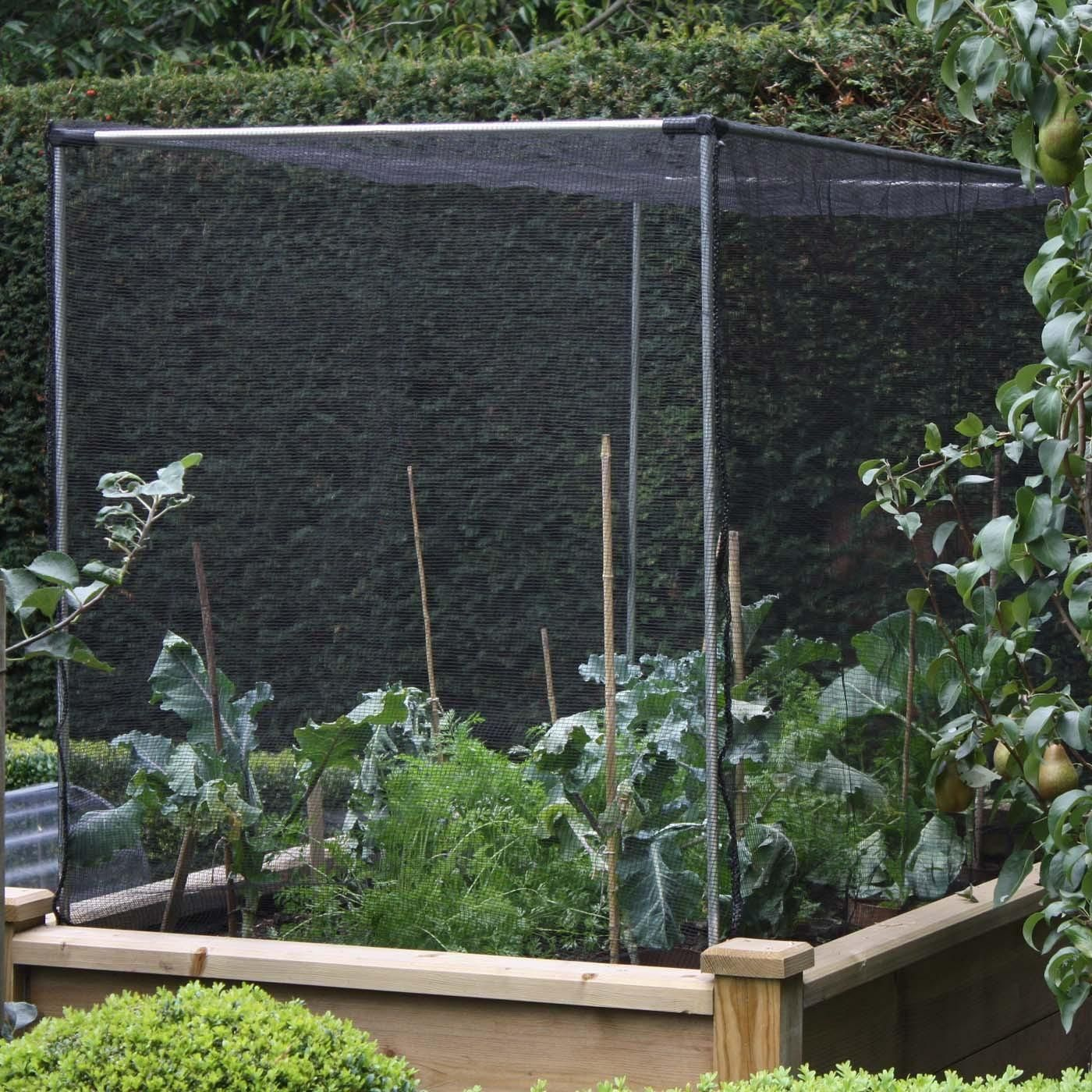 Garden Covers For Vegetables Part - 22: The Harrod Slot U0026 Lock® Aluminium Vegetable Cage Kits With Fitted Butterfly  Net Covers Save