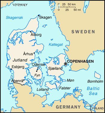 nice Map of europe copenhagen | Holidaymapq | Copenhagen map ...