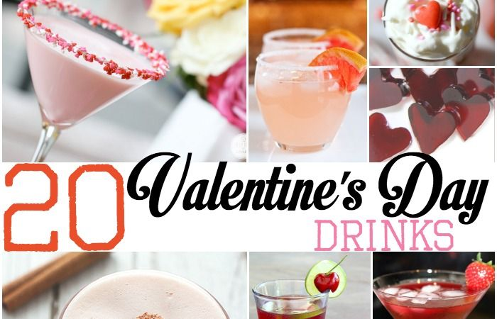 20 Adult Valentines Day Drinks | Totally the Bomb - Featured at the Home Matters Linky Party 121