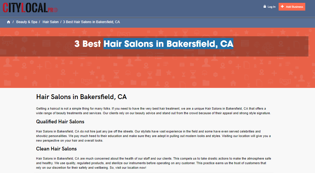 Professional Hair Salons In Bakersfield Ca Professional Hair Salon Hair Salon Best Hair Salon