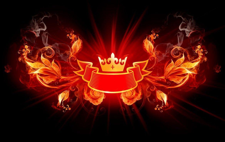 Fire Crown Wallpaper Hd Wallpaper Fire Art Fire Crown