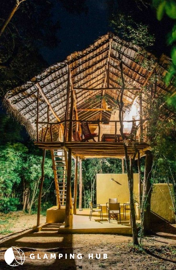 Comfy Tree House Rental For Glamping Vacation Near Sigiriya