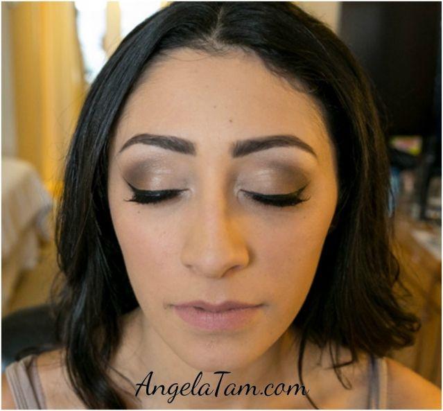 Pasadena Wedding Makeup Artist Team Angela Tam Langham Hotel Los Angeles Orange