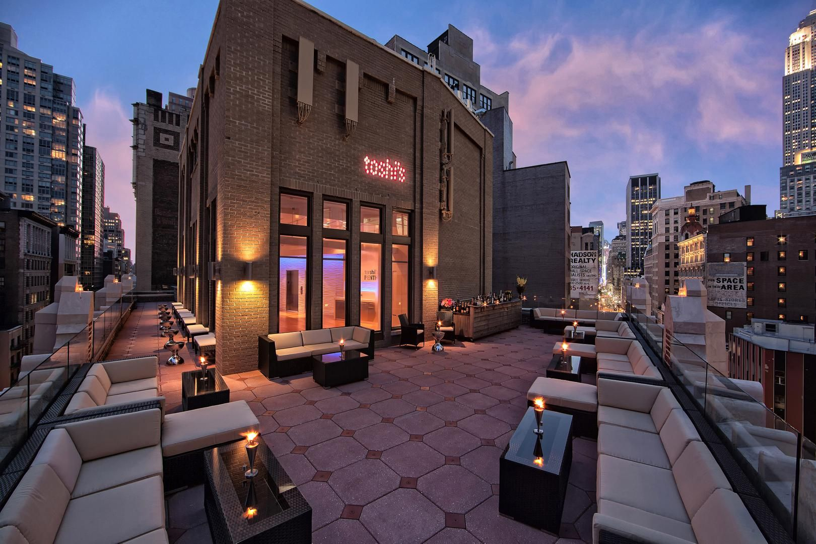 Toshi S Penthouse Eventup Event Venues York Hotels Rooftop