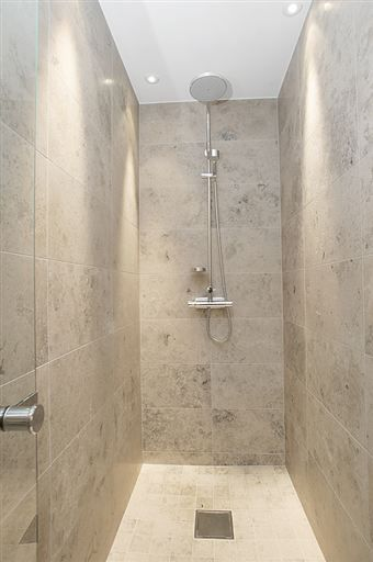 Beautiful Jura Grey Limestone Tiles Bathroom Closet, Bathroom Tiling, Small Bathrooms,  Bathroom Remodeling,