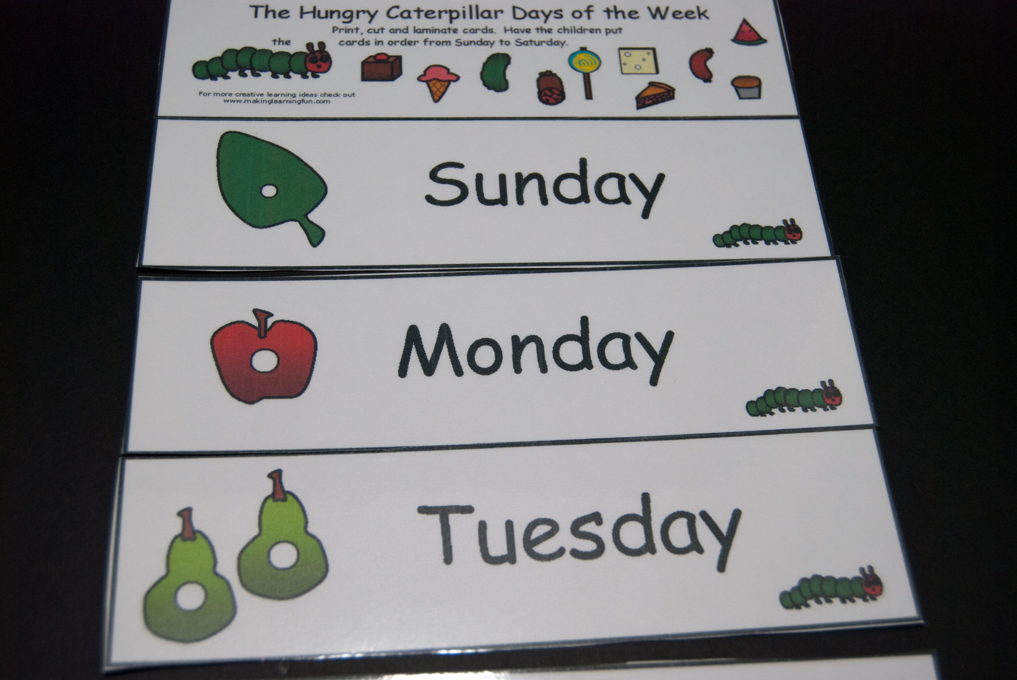 Hungry Caterpillar Days of the Week-3