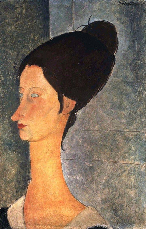 Amedeo Modigliani - Jeanne Hebuterne, 1918