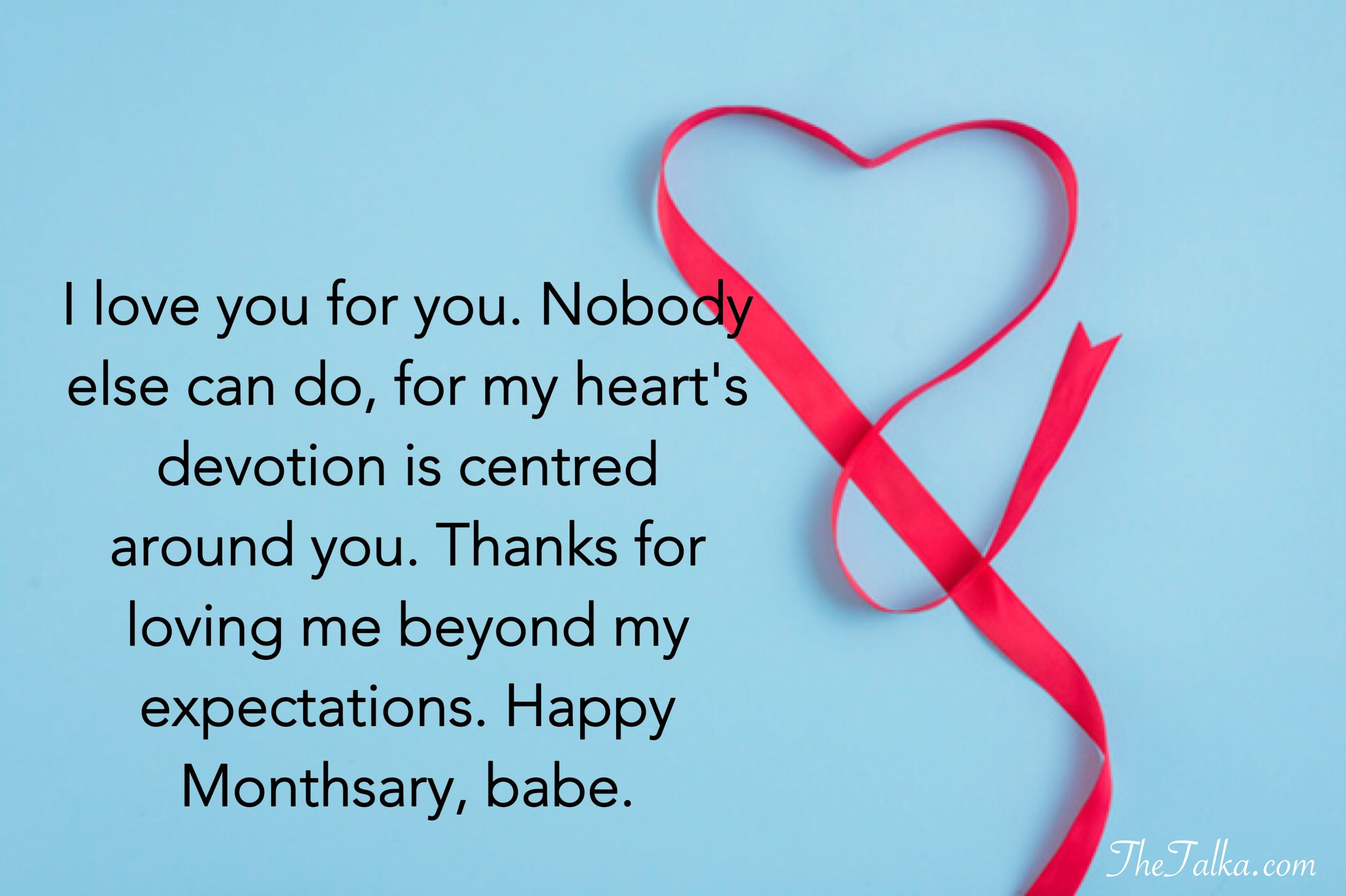 Monthsary Messages For Girlfriend And Boyfriend  Message for