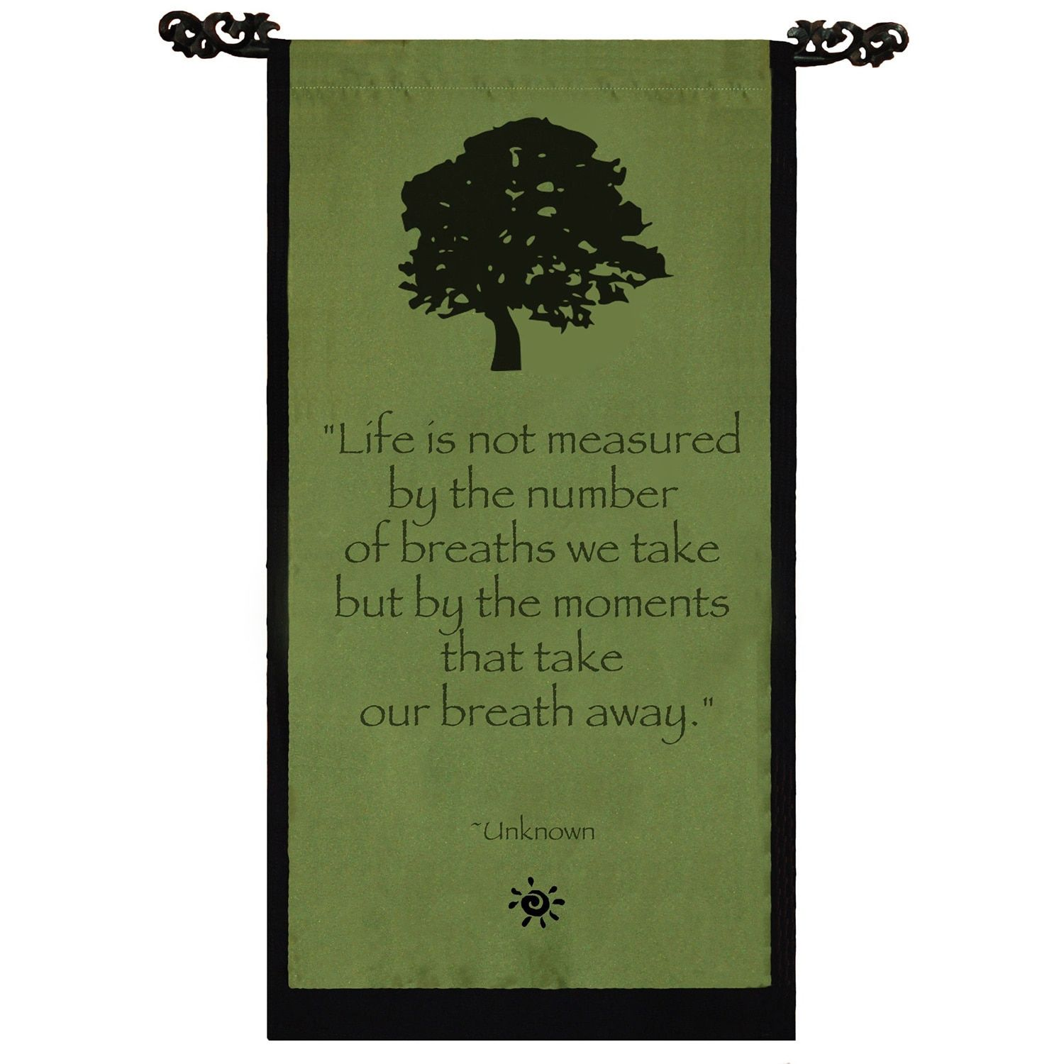 Tree Of Life Quotes Handmade Cotton Tree Of Life Design Unknown Quote Scroll