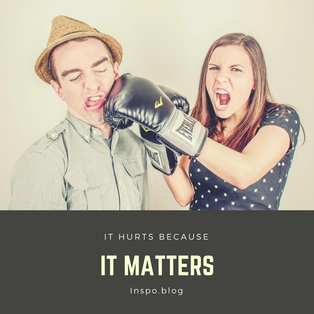 Feelings hurt because it matters how you felt. https://inspo.blog/2017/07/23/how-to-sit-with-your-emtions/?utm_content=buffera3d33&utm_medium=social&utm_source=pinterest.com&utm_campaign=buffer