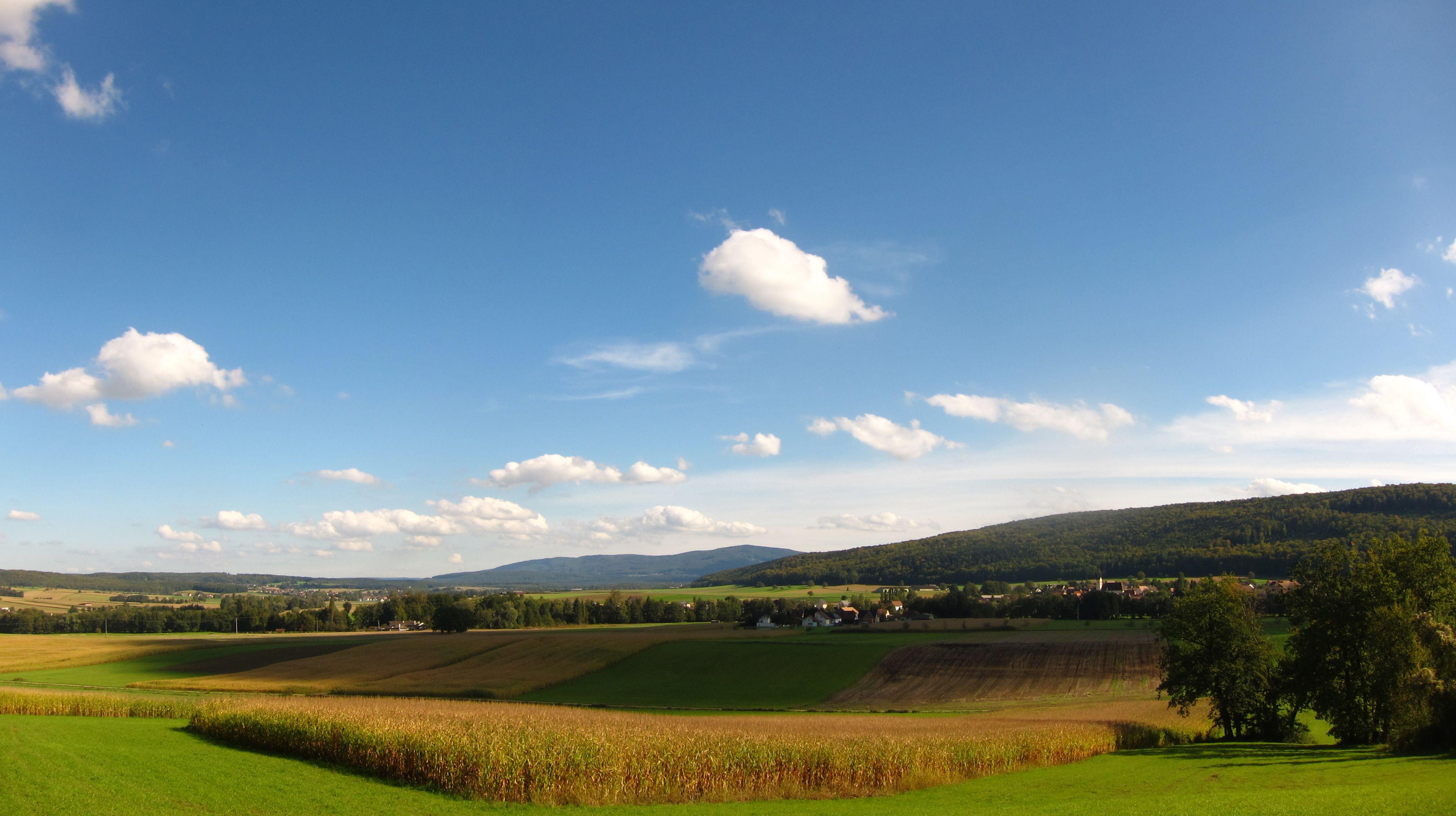 Panorama Vers Bouxwiller Credit Ot Sundgau Alsace Panorama Nature Natural Landmarks