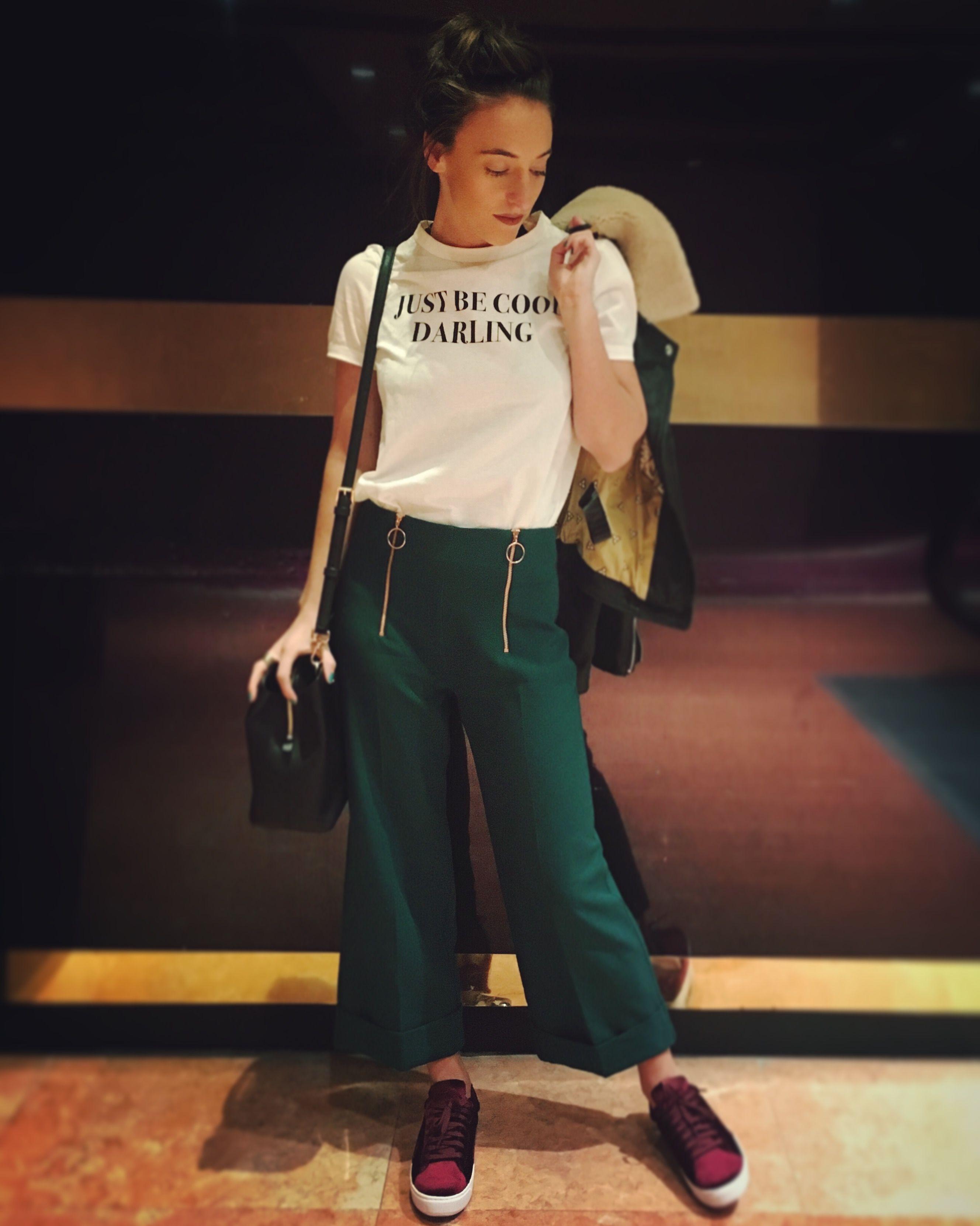 96a8197c12b2e Just Be Cool Darling Zara T-Shirt