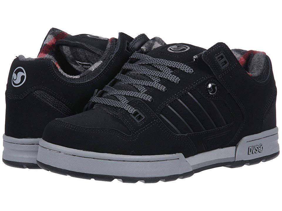 000ada186498f5 DVS Shoe Company Militia Snow (Black) Men s Skate Shoes. Trudge through mud  and