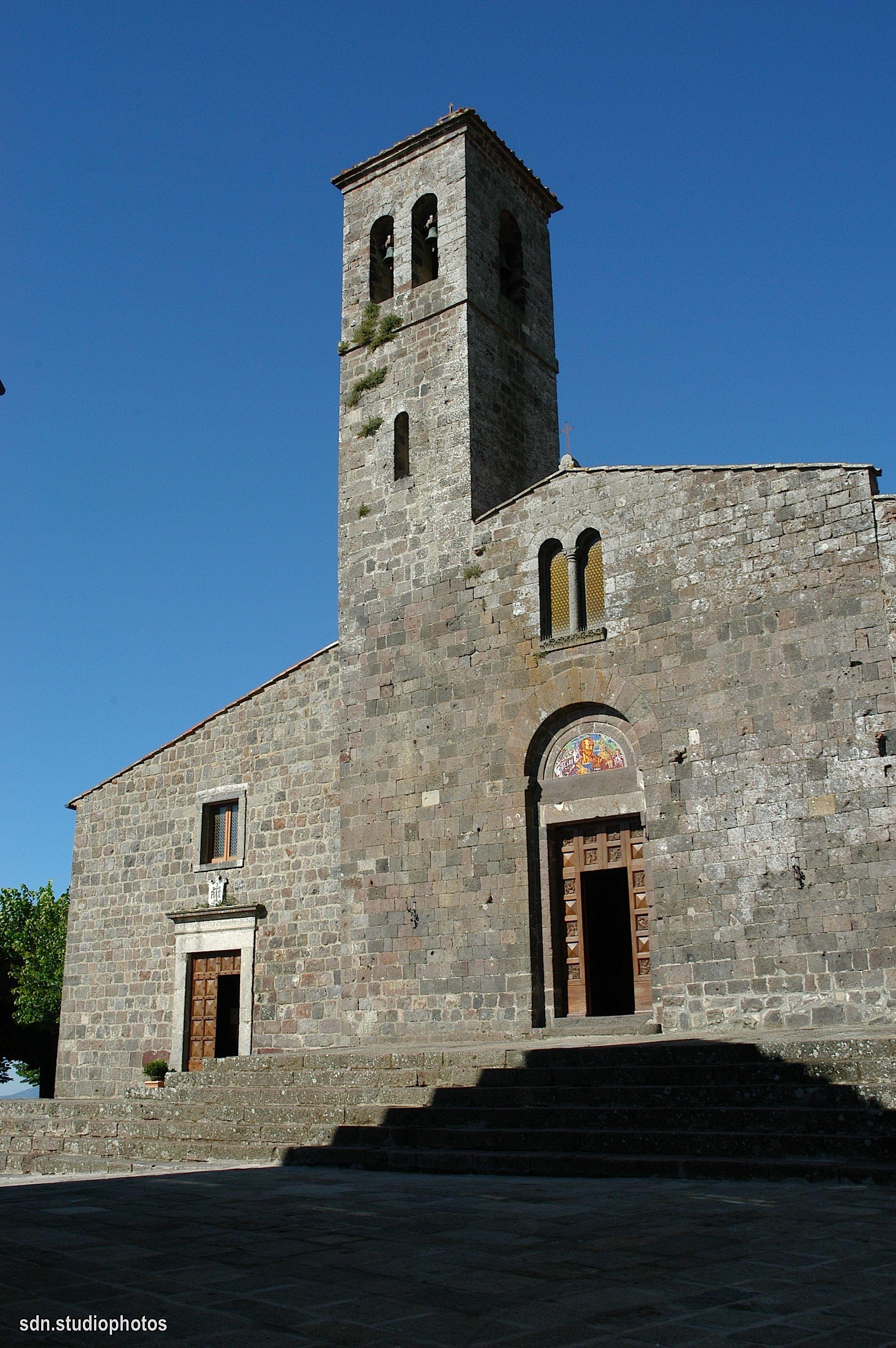 Radicofani (Toscana, Italy) - Chiesa di San Pietro Apostolo