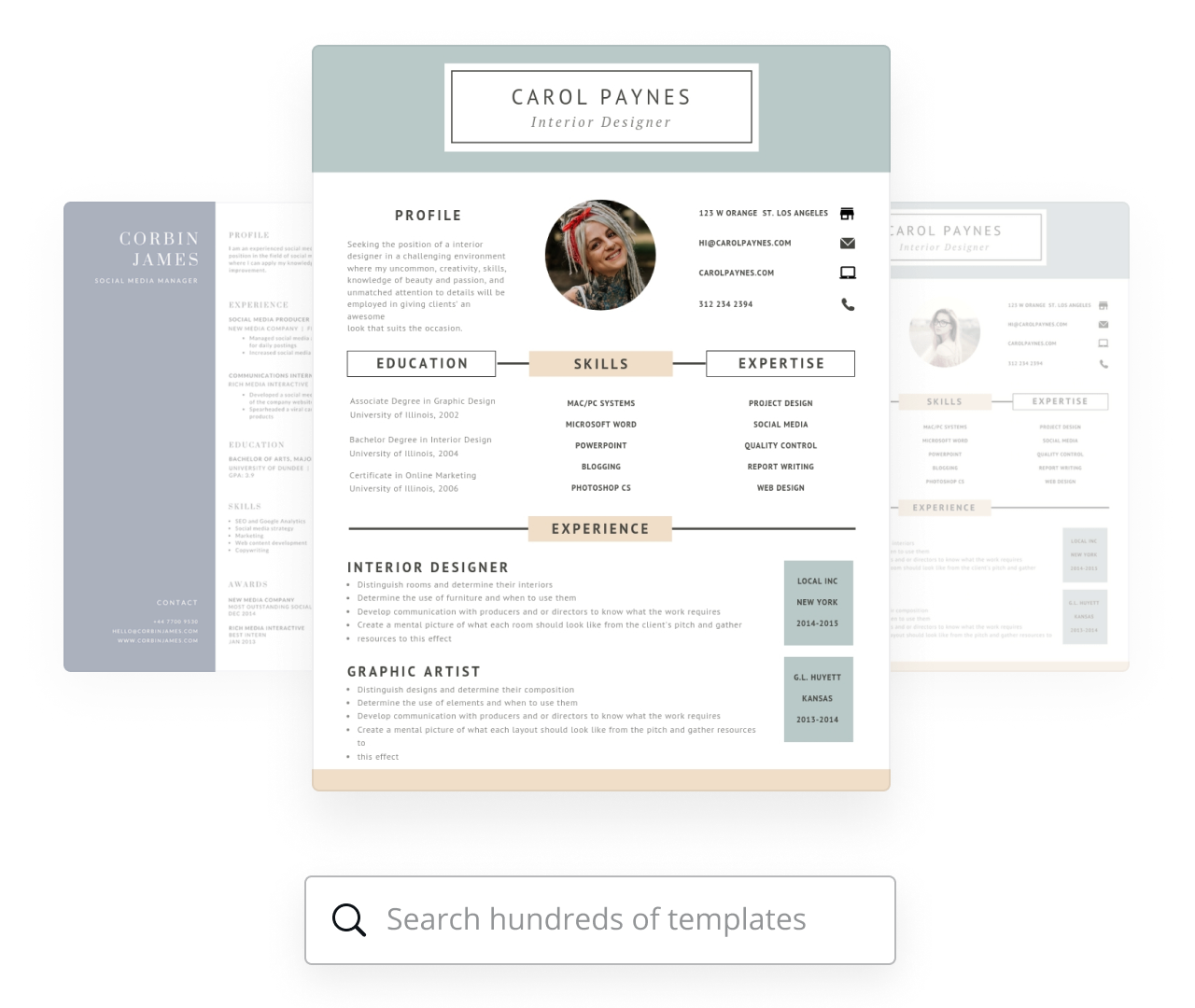 Free Resume Builder Make A Custom Resume Online Canva