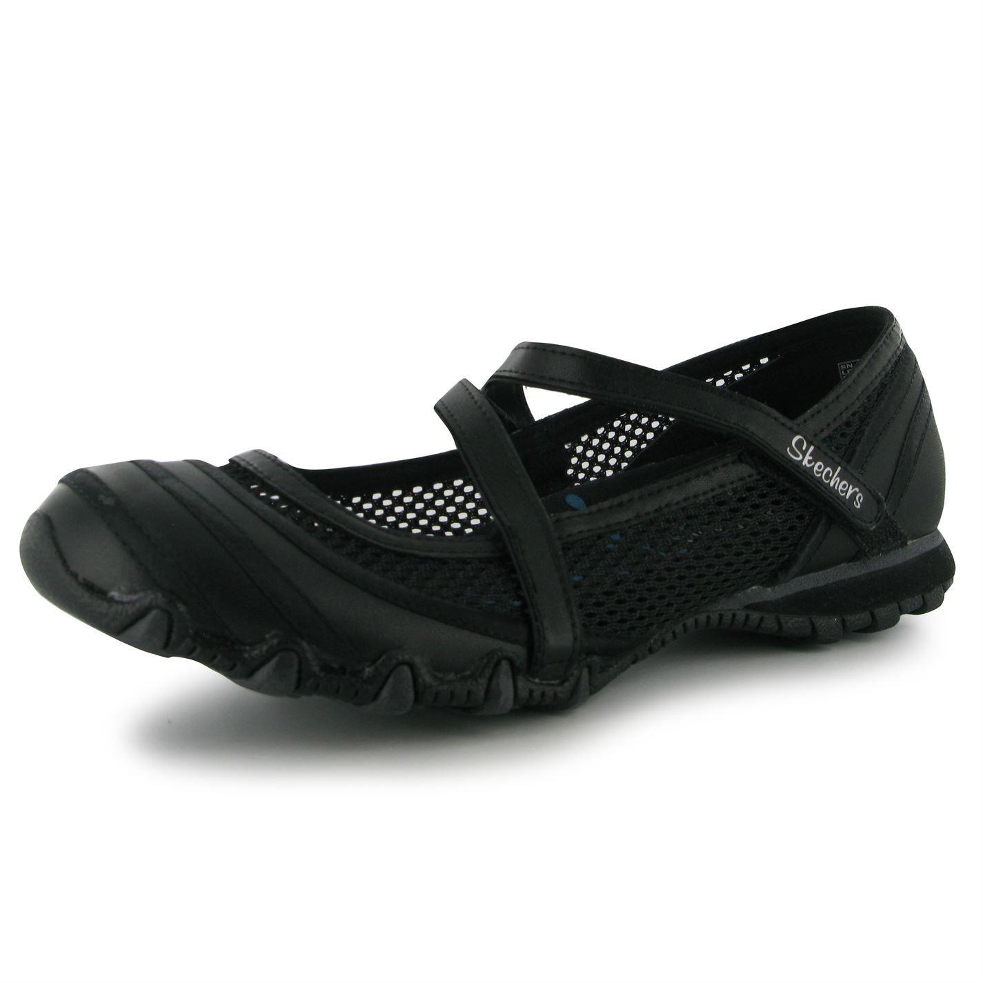 Skechers Canvas Shoes Biker Prop Ld53 Ladies