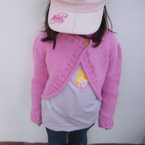 We Like Knitting: Pippa / Girls' Shrug - Free Pattern ...