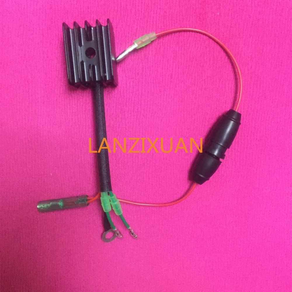 Free shipping parts for Hidea Pioneer 15hp 18HP outboard motor propulsion engine rectifier charging