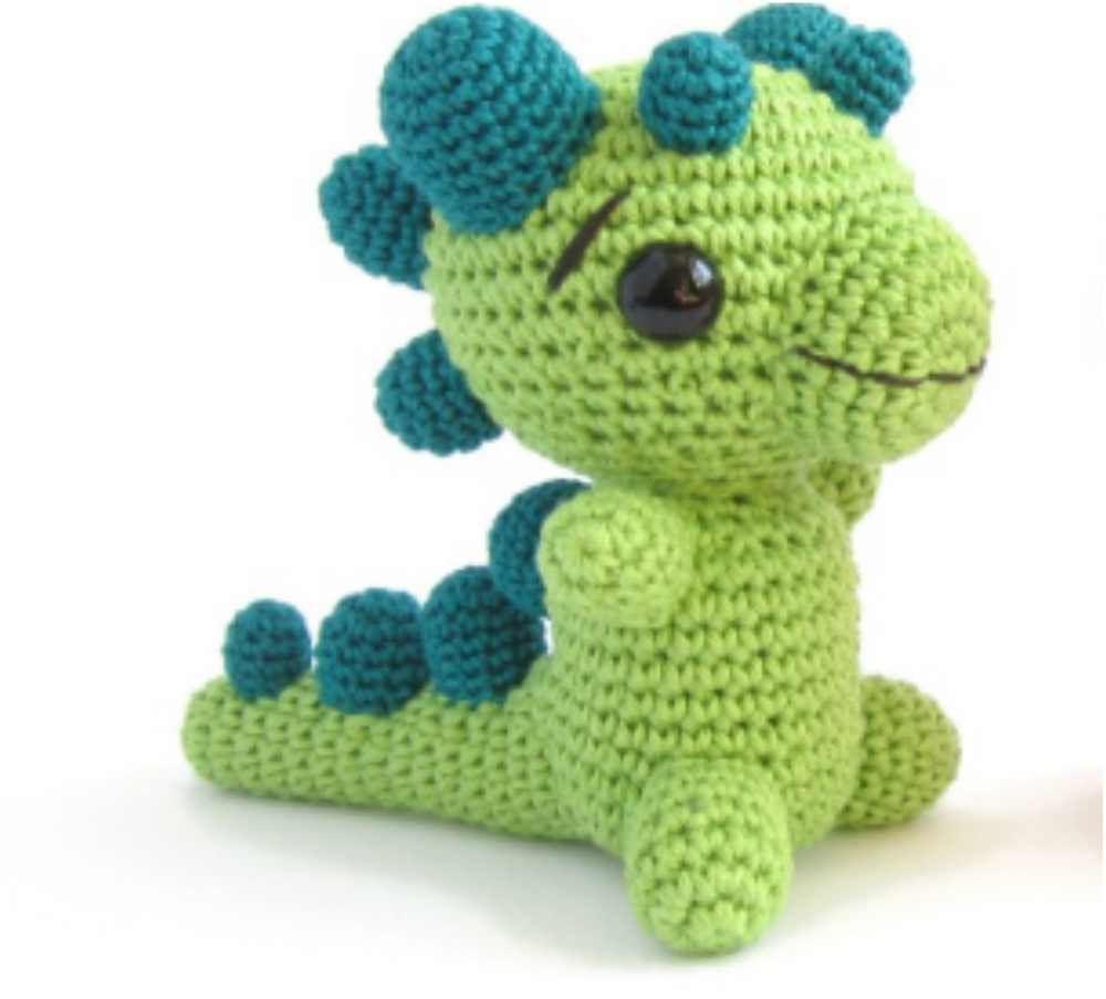 Baby Crochet Dragon [Free Amigurumi Pattern] | Stricken, Tier und Häkeln