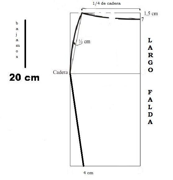 79fa5153f Falda lapiz … | faldas | Falda…