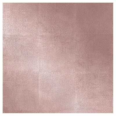 Metallic Leaf Peel Stick Wallpaper Pink Project 62 In 2021 Peel And Stick Wallpaper Rose Gold Painting Rose Gold Wall Paint