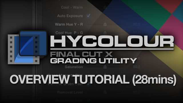 Hycolour Overview Tutorial By Jonathan Richards Hycolour Is A New Colour Grading Plugin For Primary Colour Grading In Fcpx Whi Tutorial It Cast How To Remove