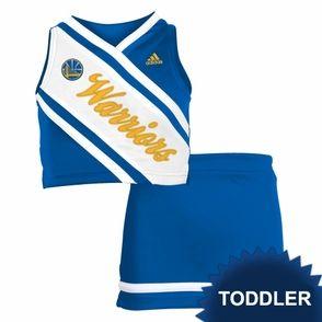 pretty nice 6bba5 43a67 Golden State Warriors adidas Toddler Girls 2-Piece ...