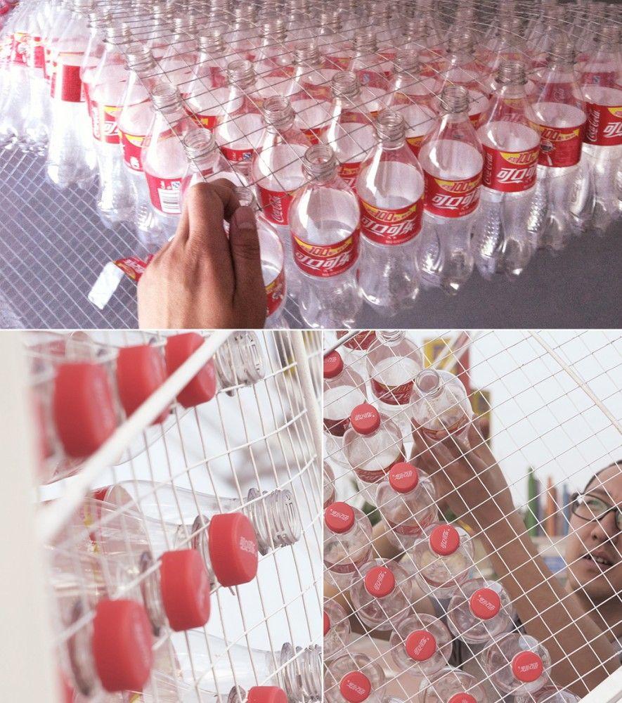 'The Cola-Bow' Installation / penda
