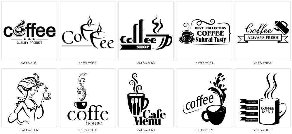 モノクロ 白黒 イラスト素材全集2 コーヒー 01 カフェイラスト モノクロ コーヒー