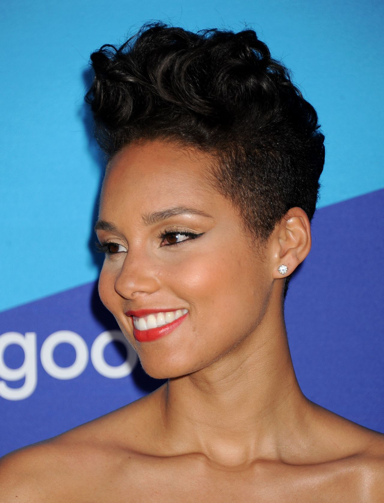 alicia keys short hair - google